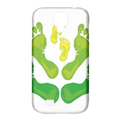 Soles Feet Green Yellow Family Samsung Galaxy S4 Classic Hardshell Case (pc+silicone) by Alisyart