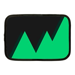 Soaring Mountains Nexus Black Green Netbook Case (medium)  by Alisyart