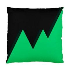 Soaring Mountains Nexus Black Green Standard Cushion Case (two Sides) by Alisyart
