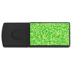 Specktre Triangle Green Usb Flash Drive Rectangular (4 Gb) by Alisyart