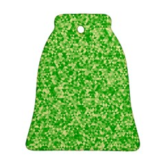 Specktre Triangle Green Bell Ornament (two Sides) by Alisyart
