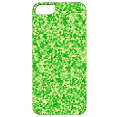 Specktre Triangle Green Apple Iphone 5 Classic Hardshell Case by Alisyart