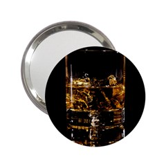 Drink Good Whiskey 2 25  Handbag Mirrors by Onesevenart