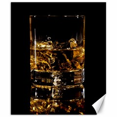 Drink Good Whiskey Canvas 20  X 24   by Onesevenart
