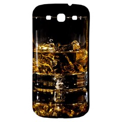 Drink Good Whiskey Samsung Galaxy S3 S Iii Classic Hardshell Back Case by Onesevenart
