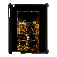 Drink Good Whiskey Apple Ipad 3/4 Case (black) by Onesevenart