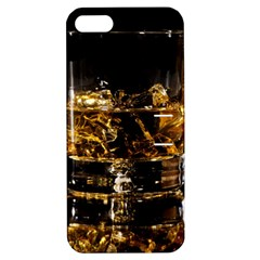 Drink Good Whiskey Apple Iphone 5 Hardshell Case With Stand by Onesevenart