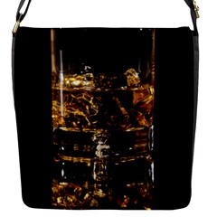 Drink Good Whiskey Flap Messenger Bag (s) by Onesevenart