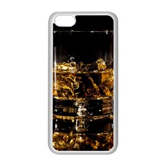 Drink Good Whiskey Apple Iphone 5c Seamless Case (white) by Onesevenart