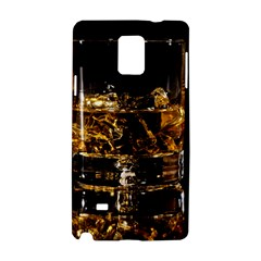 Drink Good Whiskey Samsung Galaxy Note 4 Hardshell Case by Onesevenart