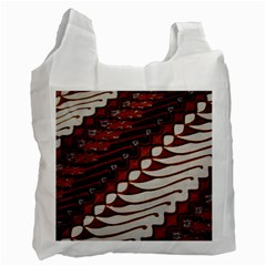 Traditional Batik Sarong Recycle Bag (two Side)  by Onesevenart