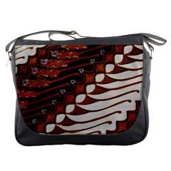 Traditional Batik Sarong Messenger Bags by Onesevenart