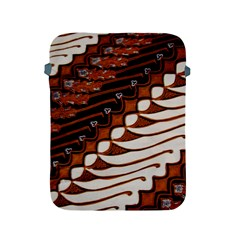 Traditional Batik Sarong Apple Ipad 2/3/4 Protective Soft Cases by Onesevenart