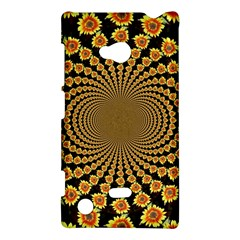 Psychedelic Sunflower Nokia Lumia 720 by Photozrus