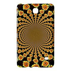 Psychedelic Sunflower Samsung Galaxy Tab 4 (8 ) Hardshell Case  by Photozrus