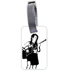 Hells Bells Luggage Tags (one Side)  by Photozrus