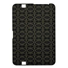 Dark Interlace Tribal  Kindle Fire Hd 8 9  by dflcprints