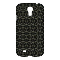 Dark Interlace Tribal  Samsung Galaxy S4 I9500/i9505 Hardshell Case by dflcprints