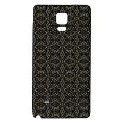 Dark Interlace Tribal  Galaxy Note 4 Back Case by dflcprints