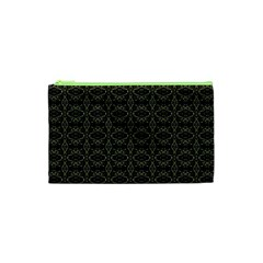 Dark Interlace Tribal  Cosmetic Bag (xs) by dflcprints