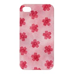 Watercolor Flower Patterns Apple Iphone 4/4s Hardshell Case by TastefulDesigns