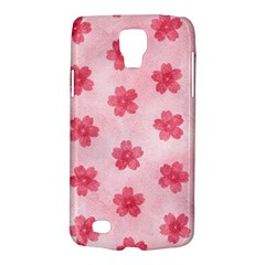 Watercolor Flower Patterns Galaxy S4 Active by TastefulDesigns
