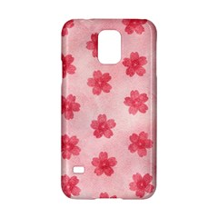 Watercolor Flower Patterns Samsung Galaxy S5 Hardshell Case  by TastefulDesigns
