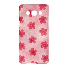 Watercolor Flower Patterns Samsung Galaxy A5 Hardshell Case  by TastefulDesigns