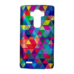 Colorful Abstract Triangle Shapes Background Lg G4 Hardshell Case by TastefulDesigns