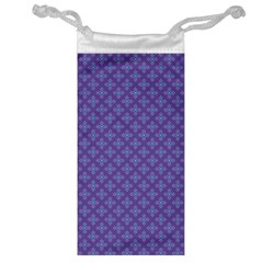 Abstract Purple Pattern Background Jewelry Bag by TastefulDesigns