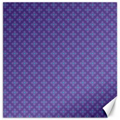 Abstract Purple Pattern Background Canvas 20  X 20   by TastefulDesigns