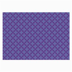 Abstract Purple Pattern Background Large Glasses Cloth (2 Side) by TastefulDesigns