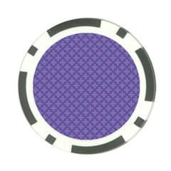 Abstract Purple Pattern Background Poker Chip Card Guard (10 Pack) by TastefulDesigns