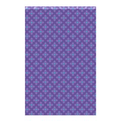 Abstract Purple Pattern Background Shower Curtain 48  X 72  (small)  by TastefulDesigns