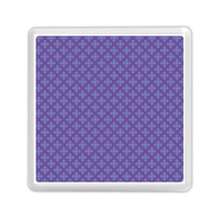 Abstract Purple Pattern Background Memory Card Reader (square)  by TastefulDesigns
