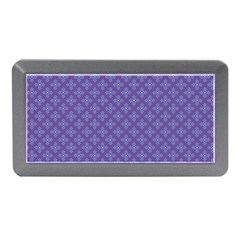 Abstract Purple Pattern Background Memory Card Reader (mini) by TastefulDesigns