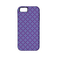 Abstract Purple Pattern Background Apple Iphone 5 Classic Hardshell Case (pc+silicone) by TastefulDesigns