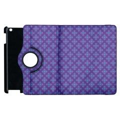Abstract Purple Pattern Background Apple Ipad 3/4 Flip 360 Case by TastefulDesigns