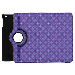 Abstract Purple Pattern Background Apple Ipad Mini Flip 360 Case by TastefulDesigns