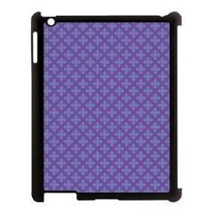 Abstract Purple Pattern Background Apple Ipad 3/4 Case (black) by TastefulDesigns