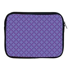 Abstract Purple Pattern Background Apple Ipad 2/3/4 Zipper Cases by TastefulDesigns