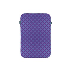 Abstract Purple Pattern Background Apple Ipad Mini Protective Soft Cases by TastefulDesigns