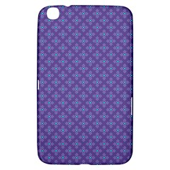 Abstract Purple Pattern Background Samsung Galaxy Tab 3 (8 ) T3100 Hardshell Case  by TastefulDesigns