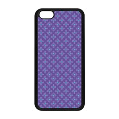 Abstract Purple Pattern Background Apple Iphone 5c Seamless Case (black) by TastefulDesigns