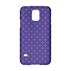 Abstract Purple Pattern Background Samsung Galaxy S5 Hardshell Case  by TastefulDesigns