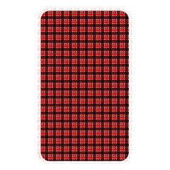 Red Plaid Memory Card Reader by PhotoNOLA