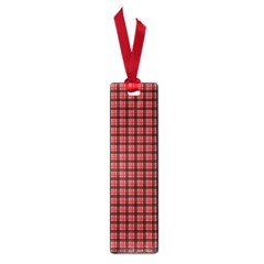 Red Plaid Small Book Marks by PhotoNOLA