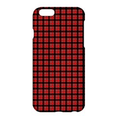 Red Plaid Apple Iphone 6 Plus/6s Plus Hardshell Case by PhotoNOLA