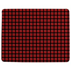 Red Plaid Jigsaw Puzzle Photo Stand (rectangular) by PhotoNOLA