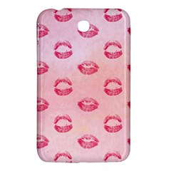 Watercolor Kisses Patterns Samsung Galaxy Tab 3 (7 ) P3200 Hardshell Case  by TastefulDesigns